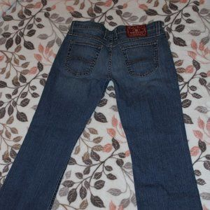EUC Lucky Brand Flare Jeans Size 28